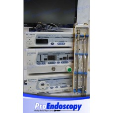 Olympus Complete Laparoscopic Tower, Camera OTV-S-7, Insufflator UHI-3, Light Source CLV-S40, Laparoscopes Autoclave 10mm 0º and 30º